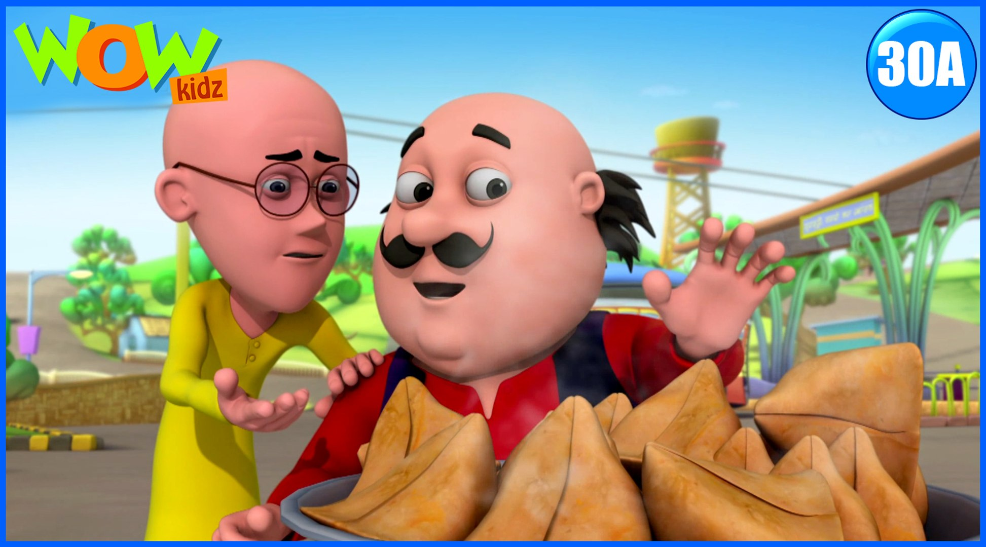 Motu Patlu in Hindi | Gold Samosa| Cartoon for Kids | Wow Kidz
