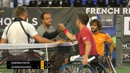 Men's Doubles Final - Egberink/Peifer vs Caverzaschi/Reid