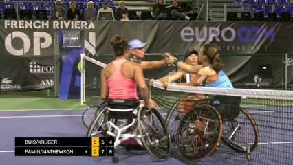 Women's Doubles Final - Buis/Kruger vs Famin/Mathewson