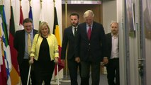 Sinn Fein's O'Neill meets EU's Brexit negotiator Barnier