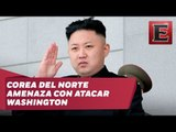 Corea del Norte amenaza con atacar Washington