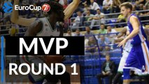 7DAYS EuroCup Regular Season Round 1 MVP: Maurice Ndour, Unics Kazan