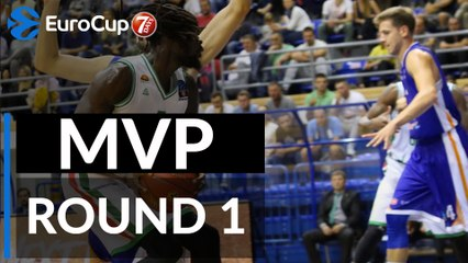 Regular Season Round 1 MVP: Maurice Ndour, UNICS Kazan