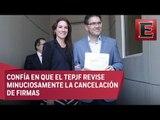 Ríos Piter impugna rechazo del INE a su candidatura independiente