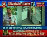 Ambala Acid Attack:  2 unidentified bike-borne miscreants threw acid on a 31-yr-old woman