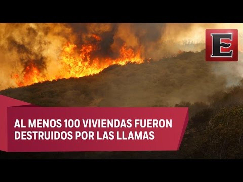 Voraz incendio en California arrasa con más de 14 mil hectáreas
