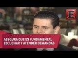 Miguel Alonso destaca avances en Zacatecas durante su administración