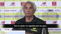 """Nantes : Les joueurs """"m'ont regardé comme si j'étais Brigitte Bardot"""", s'amuse coach Vahid"""