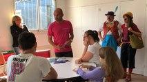 Erwan Le Roux embarque les enfants hospitalisés