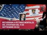 Conmemoran 15 aniversario del 11S en Nueva York