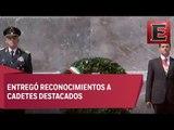 EPN conmemora aniversario de la Gesta Heroica de los Niños Héroes