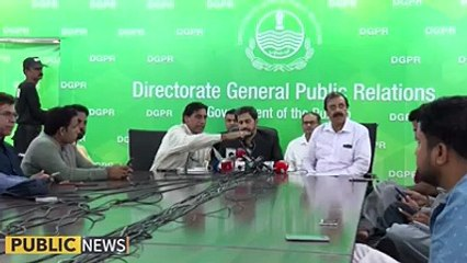 Information Minister Punjab Fayyaz Ul Hassan Chohan's Press Conference