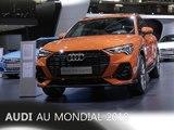 Le stand Audi en direct du Mondial de Paris 2018