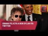 Obama felicita a Bob Dylan por premio Nobel de literatura