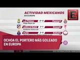 La actividad de los mexicanos en Europa