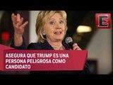 Hillary asegura que Trump apoyo la invasión a Irak / Tercer debate Hillary y Trump
