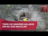 Van 12 cuerpos encontrados en fosas clandestinas de Zitlala, Guerrero