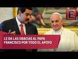Maduro califica como exitosa y cálida la reunión con el Papa Francisco