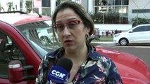 Mulher reclama de multa aplicada por agente do EstaR