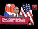 Estados Unidos es amigo y socio de Cuba: Barack Obama