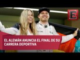 Nico Rosberg le pone freno a su carrera en la F1