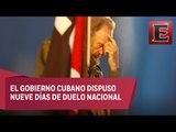 Muere Fidel Castro, líder de la Revolución cubana