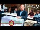 Felipe Calderón emite su sufragio en la Ciudad de México/ Elecciones 2015