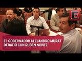 Mesa de diálogo entre el gobierno de Oaxaca y la CNTE