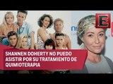 El elenco de Beverly Hills 90210 se reúne en homenaje a Shannen Doherty