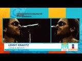 ¡Lenny Kravitz llegó a México! | Noticias con Paco Zea