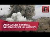 Mueren nueve personas en Damasco, Siria, por bombardeos