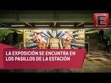 Mitos y Ritos: Exposición Leyendas de la Lucha Libre en metro Guerrero