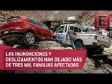 Cuatro muertos en Perú por deslaves causados por fuertes lluvias