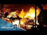 Controlado incendio en Central de Abasto en Puebla