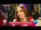 ¡Jacqueline Bracamontes y 'Kikín' Fonseca de novios a grandes amigos! | Sale el Sol