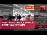 Saqueos y actos vandálicos en Nicolás Romero