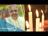 Así reciben al Papa Francisco en su visita a Ecuador
