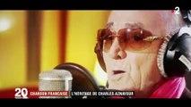 Chanson française : Charles Aznavour laisse un héritage aux jeunes générations de chanteurs