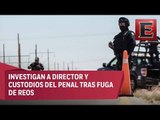 Continúa búsqueda de reos fugados en Tamaulipas