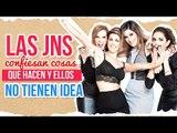 ¡Las JNS confiesan las cosas que hacen ellas y ellos ni se imaginan! | Sale el Sol