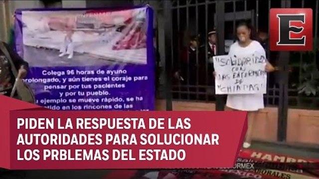 Trabajadores de la salud marchan en CDMX en apoyo a enfermeras