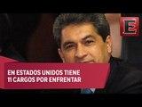 México y EU reclaman a Tomás Yarrington