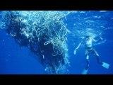 Los cazadores de basura, los héroes anónimos del mar