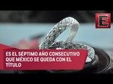 México se mantiene como el máximo productor de plata en el mundo