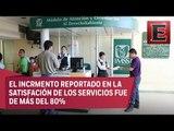Encuesta muestra incremento en satisfacción en derechohabientes del IMSS
