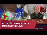 Se activan todos los protocolos de emergencia por la tormenta 'Lidia': Segob