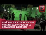 Matan a balazos a joven en calles de Iztapalapa