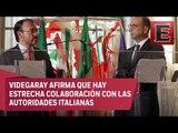 México espera que Italia extradite a Tomas Yarrington