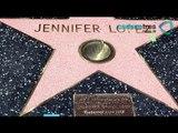 Jennifer López recibe estrella en paseo de la fama de Hollywood / Walk of Fame in Hollywood