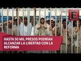 Impacto de la liberación de presos por la implementación de la Reforma Penal